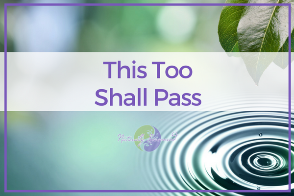 49 – This Too Shall Pass